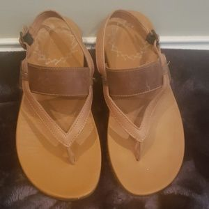 Chaco leather sandals